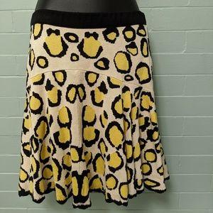 Temperley London NWT mini skirt leopard print